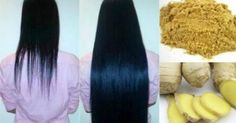 Ginger for hair growth, treat Dandruff, and split ends Natural Hair Tips, Natural Hair Styles, Long Hair Styles, Hair Growth Tips, Hair Care Tips, Hair Issues, Hair Growth Treatment, Hair Treatments, Regrow Hair