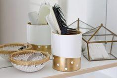 #DIY #Rangement #Salledebain Petit rangement de salle de bain