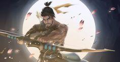 Картинки по запросу overwatch hanzo