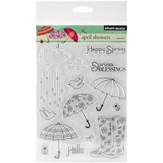 Penny Black - Penny Black Clear Stamps - April Showers