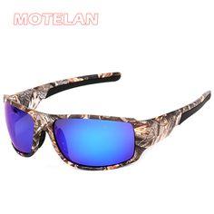 Men's Outdoor Sport Driving Fishing Hunting Sun Glasses Camouflage Frame Polarized Sunglasses Brand Designer Fashion Eyewear
