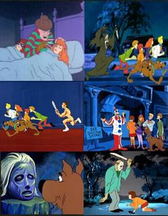 Scooby doo villians