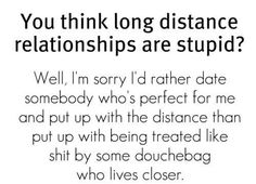 quotes about distance 1 20  distance sweet quote about You think long distance relationships