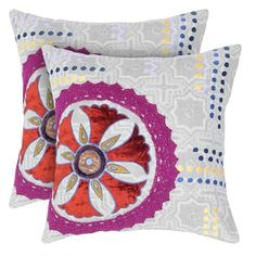 I pinned this Cara Pillow from the Bohemian Boudoir event at Joss and Main!