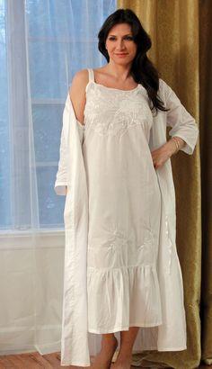 In Stitches, Victorian Nightgowns - Celeste Robe
