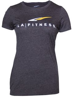 LADIES LOGO TEE Premium cotton/poly blend with athletic fit.