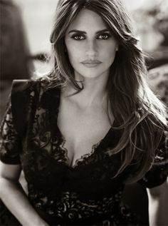 Penelope Cruz for The Edit November 2013