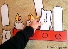 Mall för adventsljus i fönstret Christmas Themes, All Things Christmas, Christmas Diy, Christmas Decorations, Winter Crafts For Kids, Diy For Kids, Hobbies And Crafts, Diy And Crafts, Kom Ihåg