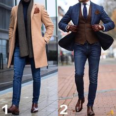 "Gefällt 5,336 Mal, 169 Kommentare - Men | Style | Class | Fashion (@menslaw) auf Instagram: ""1 or 2 ? #menslaw"""