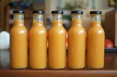This peach habanero hot sauce brings sweet, gentle heat to all your favorite foods. Make sure to use peaches at the pinnacle of ripeness for maximum deliciousness. Habanero Recipes, Habanero Salsa, Hot Sauce Recipes, Salsa Picante, Sweet Habanero Sauce Recipe, Hot Sauce Canning Recipe, Sriracha Sauce, Dip Recipes, Dressings