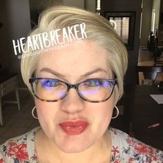 Heartbreaker LipSense by SeneGence is a neutral color. You can view it on people, look at combos or comparisons or even in a collage.  However, nothing rivals seeing it on a real person.  Click to purchase yours NOW!  #lipsense #senegence