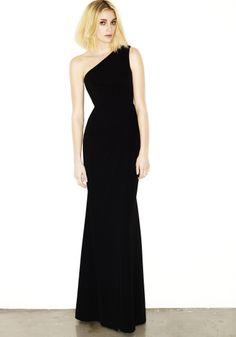 VALETTA - ONE SHOULDER GOWN