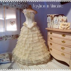 Romantic wedding gown.....created for your unforgettable day!
