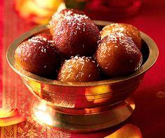 Gulab Jamun (indische Milchbällchen)