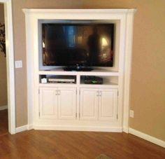 Corner TV Armoire Corner Tv Cabinets, Corner Media Cabinet, Living Room,  Entertainment Center