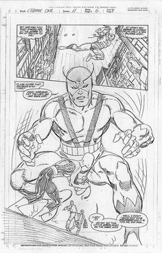 Spider-Man Chapter One, Issue 11 Pencils By John Byrne