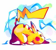 Pikachu - Super Smash Bros. by tulerarts