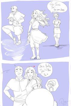 Happy Aang by *palnk on deviantART