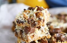 Peanut Butter Seven Layer Bars : Yummy Bar Recipes