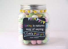 Spring is natures way of saying let's party! I Heart Nap Time | I Heart Nap Time - Easy recipes, DIY crafts, Homemaking