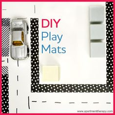 While you whip up dinner, keep your kids occupied with these creative #DIY Play Mats