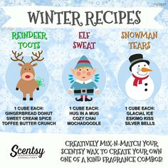 Wickless candles and scented fragrance wax for electric candle warmers and scented natural oils and diffusers. Shop for Scentsy Products Now! Apple Tea, Scentsy Independent Consultant, Wax Warmers, Scented Wax, Winter Food, Scentsy Bar, Mixers, Winter 2017, Fall 2018