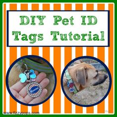 This easy tutorial demonstrates how to make your own personalized ID tag for a dog collar.