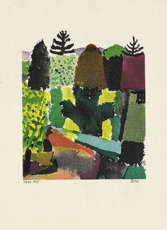 Paul Klee, Park, 1920