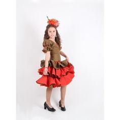 3fd4f61ec Trajes flamenca niña Aurora en 2019 | Traje flamenca niña | Traje ...