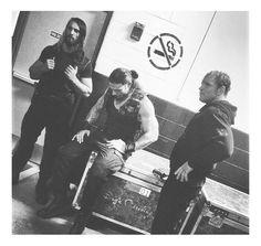 The Shield: Seth Rollins (L), Roman Reigns (M) and Dean Ambrose (R)