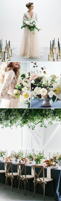 Exquisite Fine Art Botanical Wedding