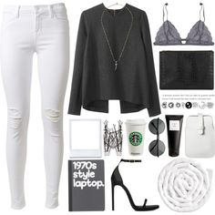 By Andreia Silva on Polyvore.