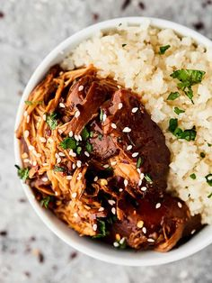 Crockpot Teriyaki Chicken Crockpot Chicken Healthy, Slow Cooker Chicken, Healthy Weeknight Dinners, Quick Meals, Easy Dinners, Advocare Recipes, Healthy Recipes, Crockpot Recipes, Cooker Recipes