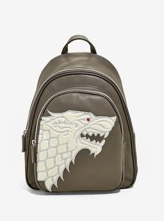 588095cdf Danielle Nicole Game Of Thrones House Stark Mini Backpack - BoxLunch  Exclusive
