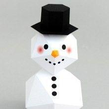 diy bonhomme neige à imprimer4