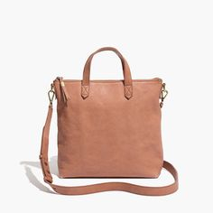 the mini transport crossbody in washed leather