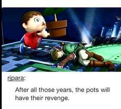 Zelda super smash bros--- IT IT WRONG I LAUGHED SO HARD AT THIS.