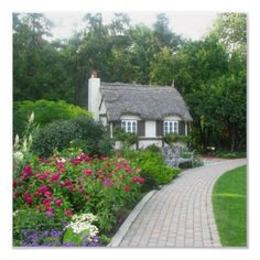 Cottage in the English Garden