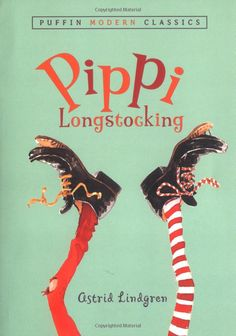 Pippi Longstocking (Puffin Modern Classics) by Astrid Lindgren #Books #Kids #Adventure