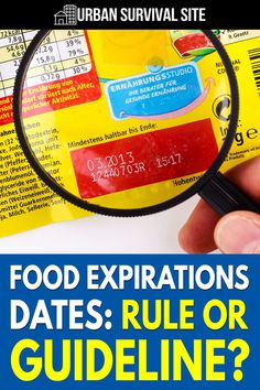 In this article, we'll examine the various expiration date terms, what they mean, which foods to throw out after they expire, and which ones to keep.