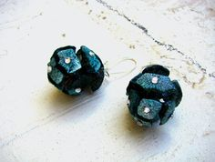 Earrings from nature, eco design  by  Alessandra Fabre Repetto www.alessandrafabre.com