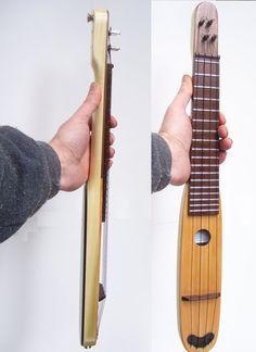 Custom Designed Pocket Ukulele or Mandolin by ArCaneLutherie Ukulele Art, Cool Ukulele, Ukelele, Ukulele Songs, Ukulele Chords, Banjo, Musica Celestial, Motif Music, Ukulele Design