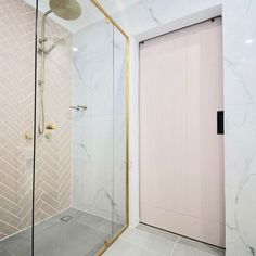 Choose Beaumonts for stunning tiles & bathroom products to suit all styles & budgets. From bathrooms to whole home renovations, make your dream a reality. Beaumont Tiles, Pink Tiles, Bathroom Inspiration, Modern Bathroom, Herringbone, Building A House, Bathrooms, Marble, Cottage