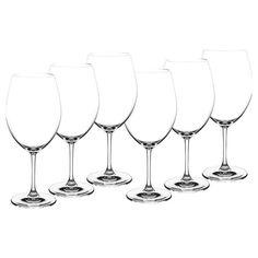 Rødvinsglass - Kitchn.no Bordeaux, Wine Glass, Tableware, Modern, Design, Dinnerware, Trendy Tree, Bordeaux Wine, Tablewares
