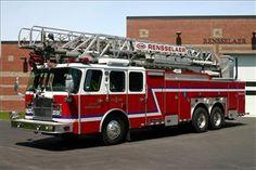 Rensselaer EOne HP 100 Firetruck