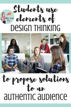 Students use elements of design thinking to create a proposal to present to an authentic audience (for us, it was the administration team). Great real world practice! Design Thinking, Teaching Philosophy, Philosophy Of Education, First Year Teaching, Student Teaching, Teaching Methods, Teaching Strategies, Teaching Ideas, English Classroom