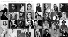 CURATED CONTRASTERS IS NOW OPEN ! www.curatedcontrasters.com A brand new style experience created by Magali Alcaide.