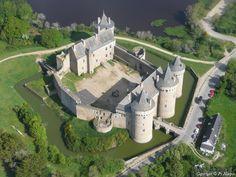 Photo aérienne de Château de Suscinio - Morbihan (56)