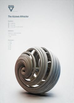"""Curioos.com   """"The Aizawa Attractor"""" by Chaotic Atmospheres (Switzerland) - http://pinterest.com/curioos"""