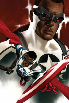 All New Captain America - Falcon by Steve Epting
